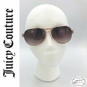 Juicy Couture Aviator Style Sunglasses